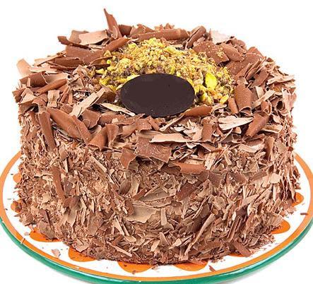 çikolatali 4 ile 6 kisilik yas pasta  Ardahan çiçek servisi , çiçekçi adresleri
