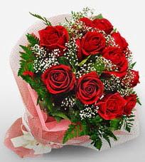 12 adet kırmızı güllerden kaliteli gül  Ardahan çiçek siparişi vermek
