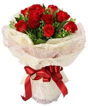 12 adet kırmızı gül buketi  Ardahan anneler günü çiçek yolla