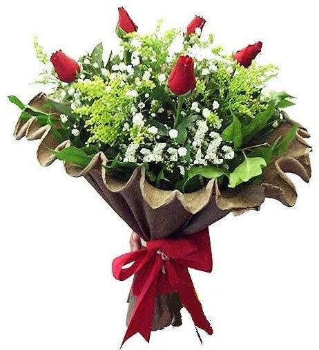 5 adet gülden buket  Ardahan çiçek gönderme sitemiz güvenlidir