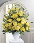 Ardahan çiçek siparişi sitesi  sari güllerden sebboy tanzim çiçek siparisi