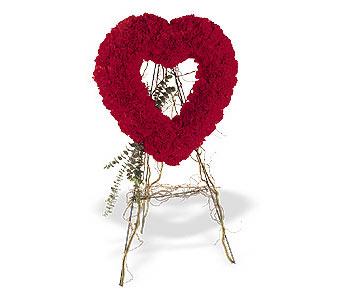 Ardahan internetten çiçek satışı  karanfillerden kalp pano