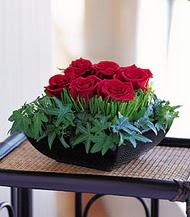 Ardahan çiçek siparişi sitesi  10 adet kare mika yada cam vazoda gül tanzim