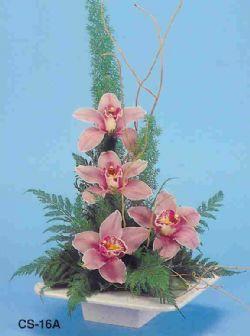 Ardahan çiçekçi telefonları  vazoda 4 adet orkide