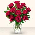 Ardahan çiçek yolla  10 adet gül cam yada mika vazo da
