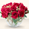 Ardahan çiçek online çiçek siparişi  mika yada cam içerisinde 10 gül - sevenler için ideal seçim -