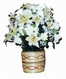 yapay karisik çiçek sepeti   Ardahan çiçek mağazası , çiçekçi adresleri