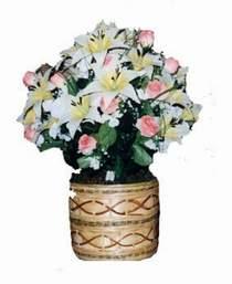 yapay karisik çiçek sepeti   Ardahan çiçek servisi , çiçekçi adresleri