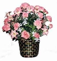 yapay karisik çiçek sepeti  Ardahan çiçek online çiçek siparişi