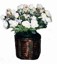 yapay karisik çiçek sepeti   Ardahan cicek , cicekci