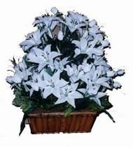 yapay karisik çiçek sepeti   Ardahan online çiçek gönderme sipariş