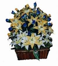yapay karisik çiçek sepeti   Ardahan çiçek gönderme