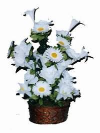 yapay karisik çiçek sepeti  Ardahan çiçek siparişi vermek