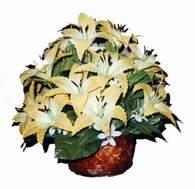 yapay karisik çiçek sepeti   Ardahan çiçek siparişi sitesi