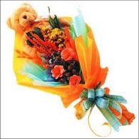 ayicik gül ve kir çiçekleri   Ardahan çiçekçi mağazası