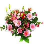 lilyum ve gerbera çiçekleri - çiçek seçimi -  Ardahan çiçek gönderme