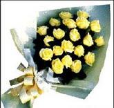 sari güllerden sade buket  Ardahan çiçek , çiçekçi , çiçekçilik