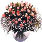 büyük cam fanusta güller   Ardahan çiçek yolla