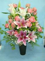 Ardahan internetten çiçek satışı  cam vazo içerisinde 21 gül 1 kazablanka