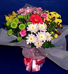 Ardahan hediye çiçek yolla  küçük karisik mevsim demeti