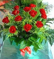 12 adet gül buketi  Ardahan anneler günü çiçek yolla