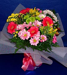 karisik sade mevsim demetligi   Ardahan 14 şubat sevgililer günü çiçek
