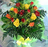 13 adet karisik gül buketi demeti   Ardahan uluslararası çiçek gönderme