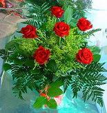 6 adet kirmizi gül buketi   Ardahan online çiçek gönderme sipariş