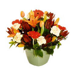mevsim çiçeklerinden karma aranjman  Ardahan çiçek yolla , çiçek gönder , çiçekçi