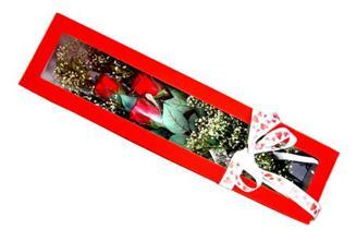 Ardahan hediye çiçek yolla  Kutuda 3 adet gül
