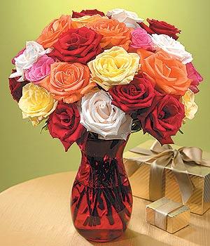 Ardahan anneler günü çiçek yolla  13 adet renkli gül
