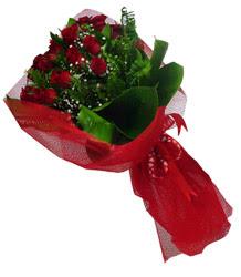 Ardahan çiçek gönderme sitemiz güvenlidir  10 adet kirmizi gül demeti