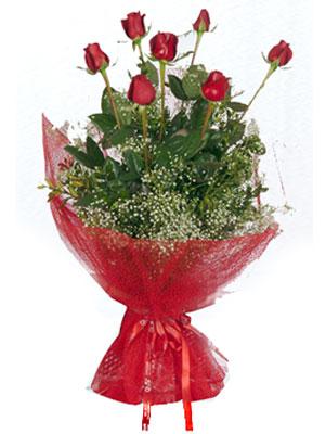 Ardahan çiçek servisi , çiçekçi adresleri  7 adet gülden buket görsel sik sadelik