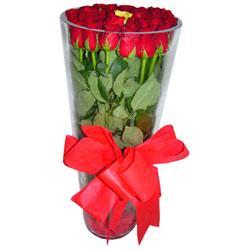 Ardahan çiçek online çiçek siparişi  12 adet kirmizi gül cam yada mika vazo tanzim