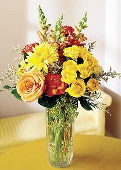 Ardahan 14 şubat sevgililer günü çiçek  mika yada cam içerisinde karisik mevsim çiçekleri