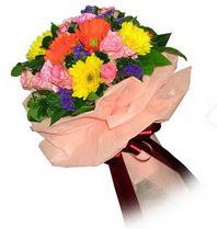 Ardahan çiçekçi mağazası  Karisik mevsim çiçeklerinden demet