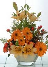 Ardahan çiçek servisi , çiçekçi adresleri  cam yada mika vazo içinde karisik mevsim çiçekleri