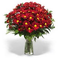 Ardahan çiçek yolla  Kir çiçekleri cam yada mika vazo içinde
