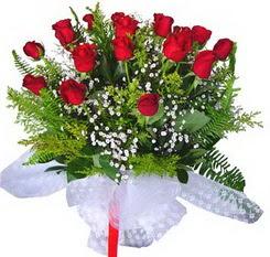 Ardahan çiçek satışı  12 adet kirmizi gül buketi esssiz görsellik
