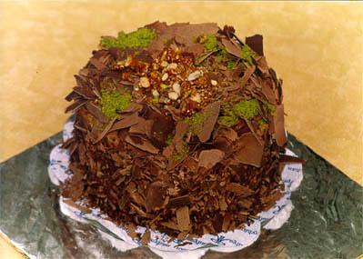 Çikolatali 4 ila 6 kisilik yas pasta  Ardahan çiçek gönderme sitemiz güvenlidir