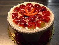 Meyvali yas pasta 4 ile 6 kisilik pasta  Ardahan çiçek siparişi sitesi