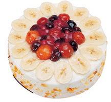 Meyvali 4 ile 6 kisilik yas pasta leziz  Ardahan ucuz çiçek gönder