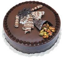 Çikolatali yas pasta 4 ile 6 kisilik  leziz  Ardahan çiçek mağazası , çiçekçi adresleri