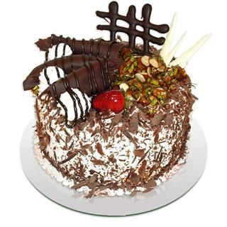 4 ile 6 kisilik çikolatali yas pasta  Ardahan kaliteli taze ve ucuz çiçekler