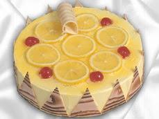 taze pastaci 4 ile 6 kisilik yas pasta limonlu yaspasta  Ardahan online çiçek gönderme sipariş