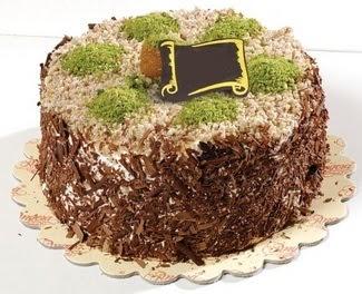 pasta gönderme 4 ile 6 kisilik çikolatali yas pasta  Ardahan çiçek satışı