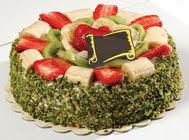 pasta gönder  4 ile 6 kisilik karisik meyvali yas pasta  Ardahan internetten çiçek siparişi