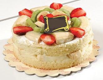 pasta siparisi 4 ile 6 kisilik karisik meyvali yas pasta  Ardahan çiçek servisi , çiçekçi adresleri