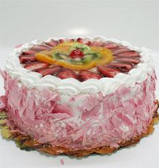 görsel pastacilar 4 ile 6 kisilik yas pasta karisik meyvali  Ardahan çiçek online çiçek siparişi