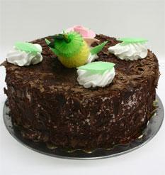 4 ile 6 kisilik yas pasta çikolatali leziz pastane ürünü  Ardahan cicekciler , cicek siparisi